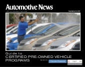Auto Industry Certified Pre Owned C...