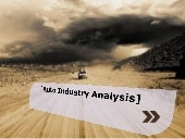 Indian Auto Industry Analysis