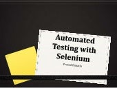 Automated testing with selenium pra...