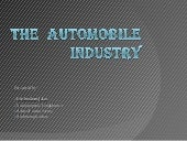 Automobile industry presentation [a...