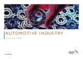 Indian Automotive Industry Presenta...