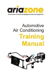 Automotive air conditioning trainin...