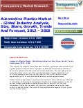 Automotive Plastics Market - Global Industry Analysis, Size, Share, Growth, Trends And Forecast, 2012 - 2018