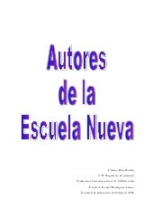 Autores tendencias