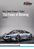 Auto Trader Owners' Guide: Future of Motoring