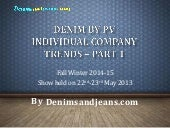 Autumn winter 14-15 Denim trends fr...