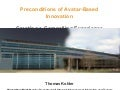 Avatar Based Innovation End