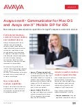 Avaya 1XC Mobile SIP for Apple