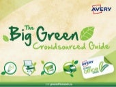 The Big Green Crowdsourced Guide