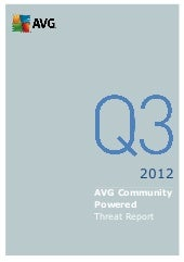 AVG Q3 2012 Threat Report