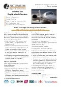 Malta - Aviation Registration Fact Sheet Acumum Legal & Advisory