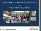 Santan JHS - AVID Introduction
