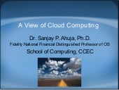 A viewof cloud computing