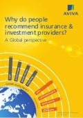 [ARCHIVE] Why do people recommend insurance & investment providers? A Global perspective
