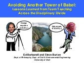 Avoiding Another Tower of Babel: Lessons Learned from Team Teaching across the Disciplinary Divide