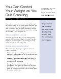 Avoiding weight gain after smoking free weight loss tips for exsmokers