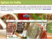 Avon Agro - Spices In India