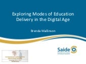 AVU Conference 2013 Modes of Edu de...