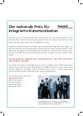 Anzeige Swiss 500 Corporate Communications