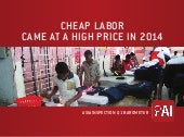 The High Price of Cheap Labor in 2014