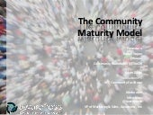 Community Maturity Model with Rache...