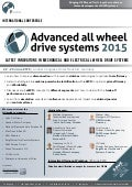 Volvo Cars, Hyundai Motor, GKN Driveline Confirm | Early Bird Discount Ends Shortly | Advanced All Wheel Drive Systems 2015 Conference