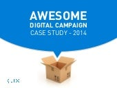 Awesome Digital Campaign Case Study 2014