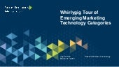 A Whirlygig Tour of Emerging Marketing Technology Categories