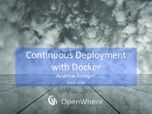 Continuous Integration with Docker on AWS