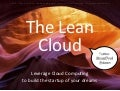 Lean Cloud - Amazon Web Services