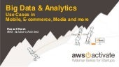 Big Data & Analytics - Use Cases in Mobile, E-commerce, Media and more