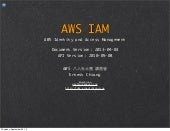AWS IAM -- Notes of 20130403 Doc Version
