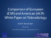 Comparison of ESR & ACR Teleradiology White Papers
