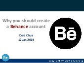 Why you should create a Behance account