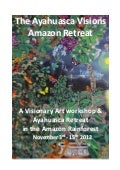Ayahuasca and Visionary Art Retreat 2012