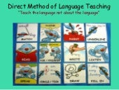 Direct Method (DM) of Language Teac...