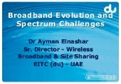 Wireless Broadband Evolution