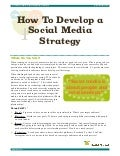 A Youth Guide to Social Media Strategy