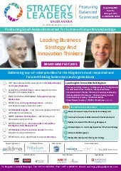 Strategy leaders featuring Balanced...