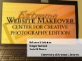 Extreme Website Makeover: Center for Creative Photography Edition