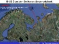 B 52 Bomber Strike On Severodvinsk
