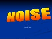 B  Part 5 Noise By J Mc Cann