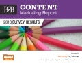 B2B Content Marketing Trends 2013