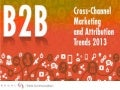 B2B Coss-Channel Marketing and Attribution Trends 2013