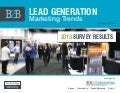 B2B Lead Generation Trends 2013