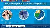 B2c ecommerce report East Europe