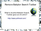 Babylon search toolbar