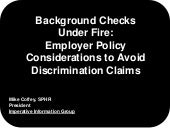 Background Checks Under Fire: Polic...