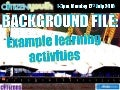 Background file  learning activities