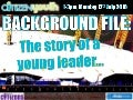 Background file  the story of a young leader